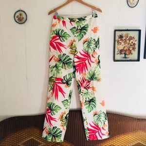 Silk Tropical Trousers